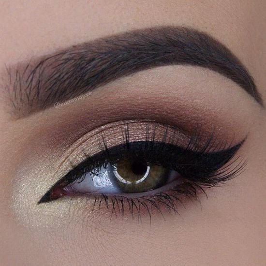 مدل آرایش چشم درشت جدید و جذاب برای مهمانی ها