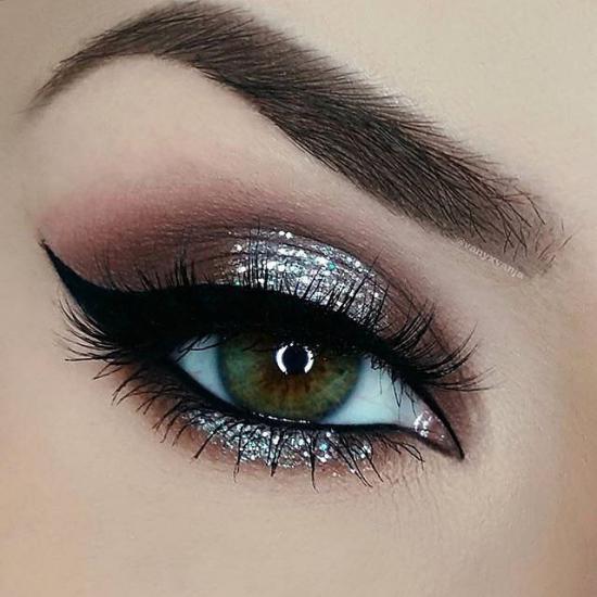 جدیدترین مدل آرایش چشم ۹۷ شیک و فوق العاده زیبا