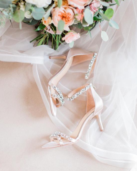 کفش عروس پاشنه پهن 2018 مخصوص شیک پسندان + تصاویر