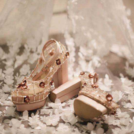 شیک ترین مدل کفش عروس مد بهار امسال 1397