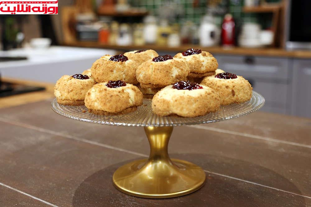 چگونه شیرینی چیز کیک درست کنیم ؟