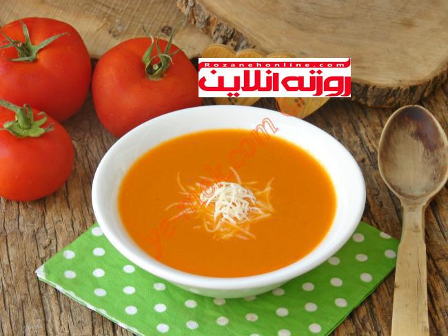 آموزش سوپ گوجه فرنگی با متد رستوران های ترکیه