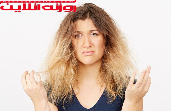 آروماتراپی برای درمان موهای خشک و فر
