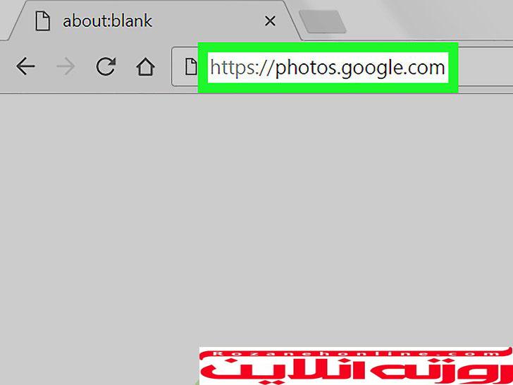 آموزش تصویری انتقال آلبوم عکسهای Google Photos بر روی PC یا Mac