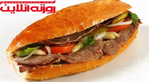 طرز تهیه ساندویچ اک مک دونر با رسپی اصل ترکیه