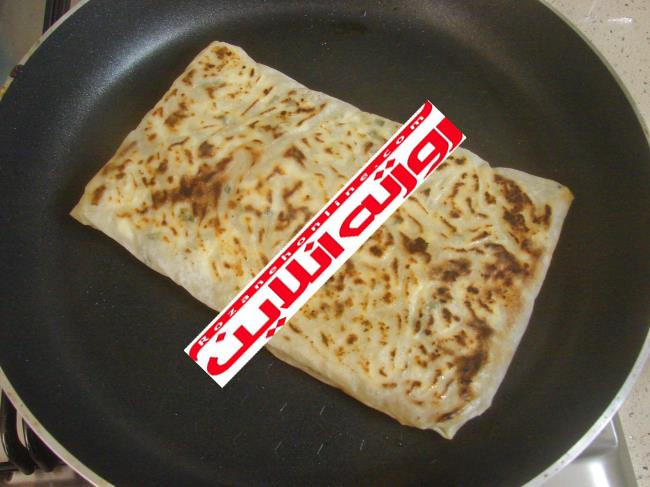 آسانترین شیوه درست کردن گوزلمه با خمیر یوفکا