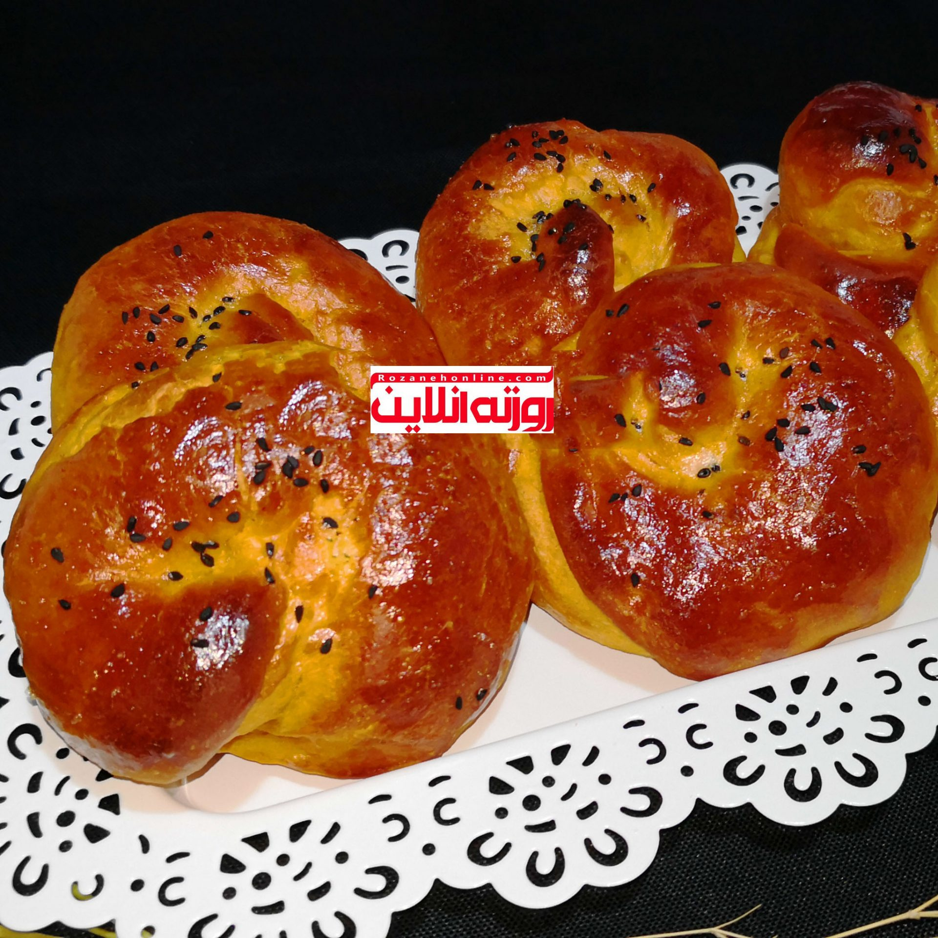 بقچه سیب زمینی با استفاده از رب گوجه فرنگی