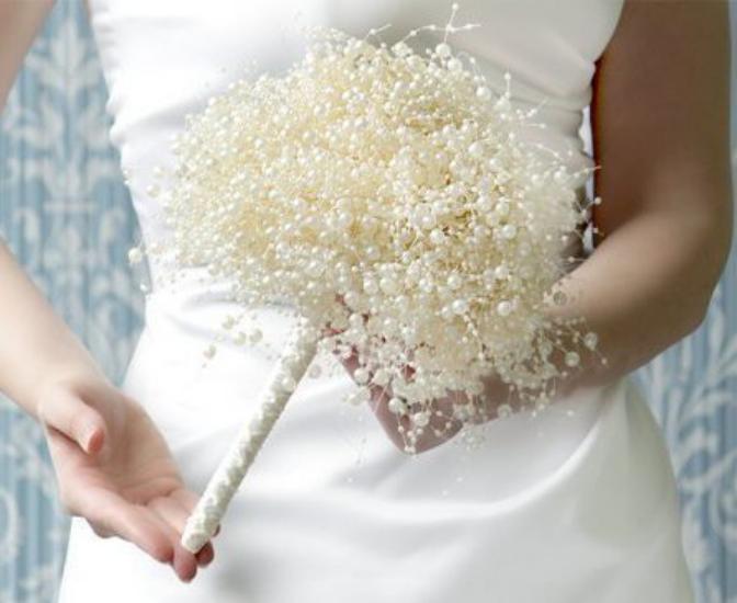 دسته گل عروس اروپایی 2018