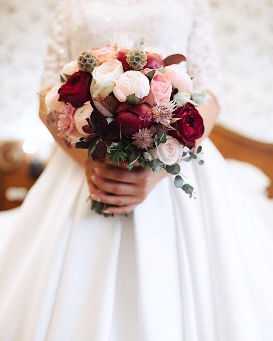 انواع دسته گل عروس جدید 2018 بسیار جذاب و زیبا