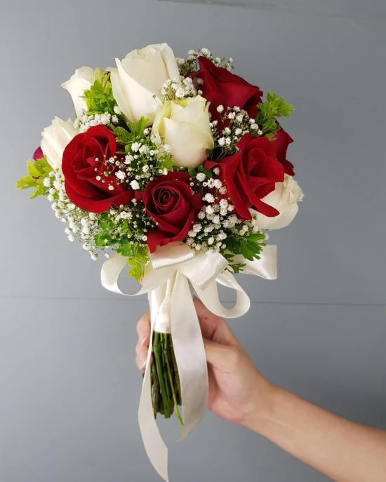 شیک ترین مدل دسته گل عروس با طرح های جذاب مد سال