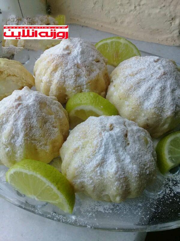 طرز تهیه شیرینی با استفاده از مارمالاد لیمویی