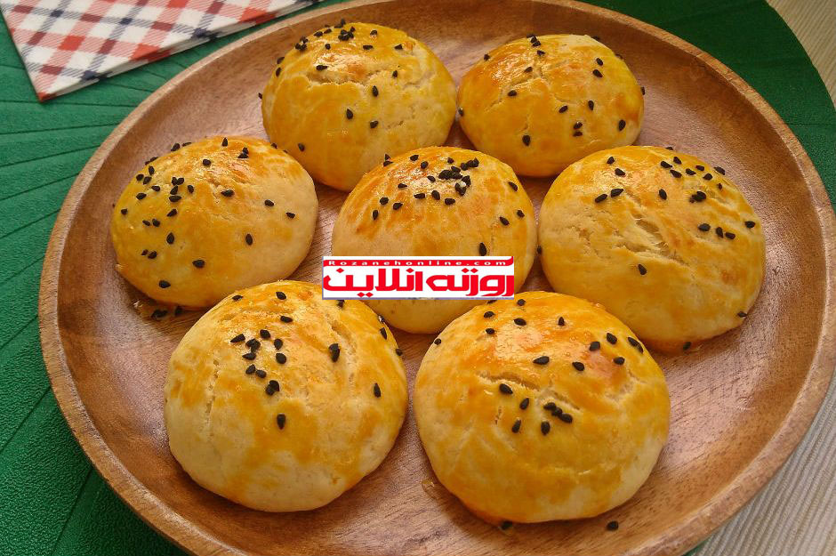دستور پخت شیرینی پنیری با متد ترکیه