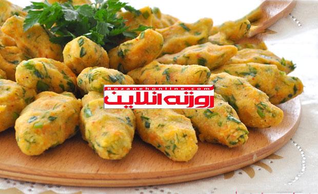 طرز تهیه کوفته بلغور با هویج
