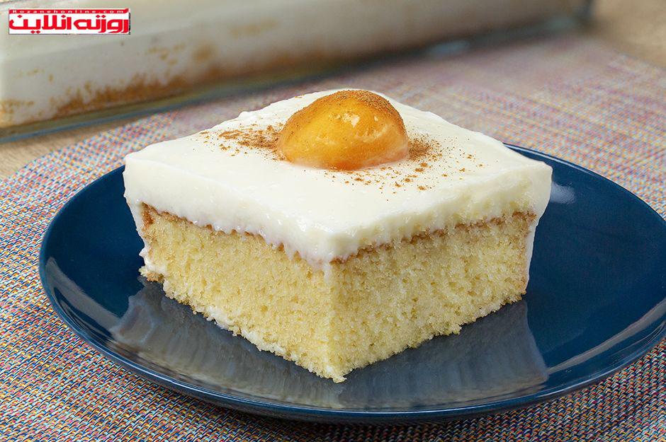 طرز تهیه کیک تخم مرغ