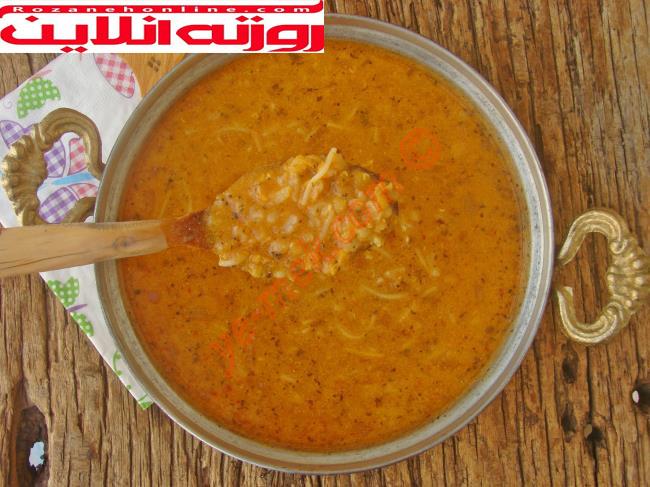 طرز تهیه سوپ ازوگلین ترکیه با استفاده از ماست