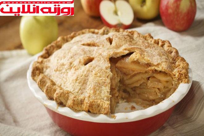 آسان ترین شیوه درست کردن پای سیب