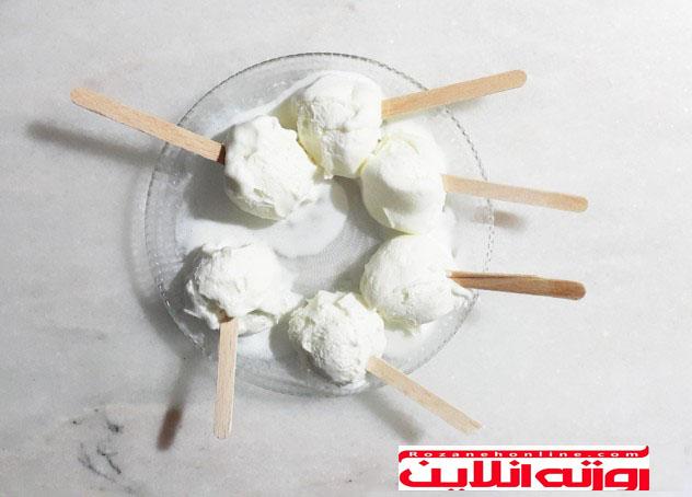 بستنی مگنوم خانگی