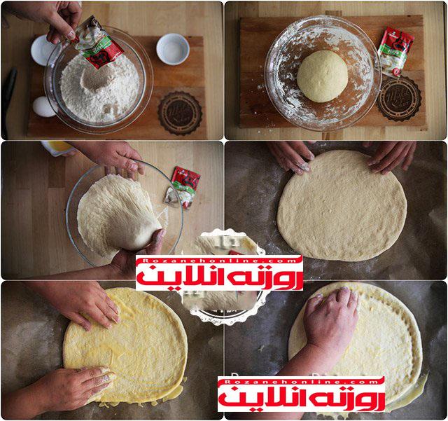 چگونه پیده رمضان با تخم مرغ درست کنیم