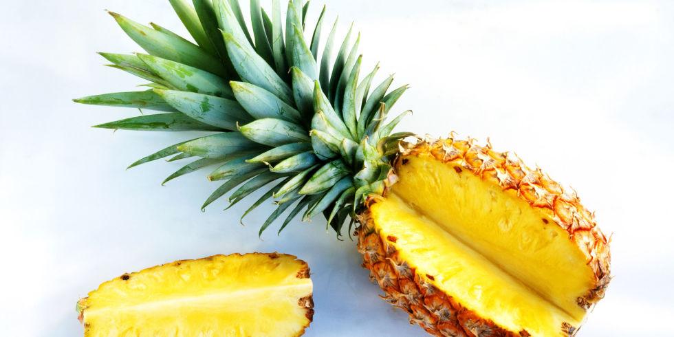 فواید درمانی مصرف آناناس