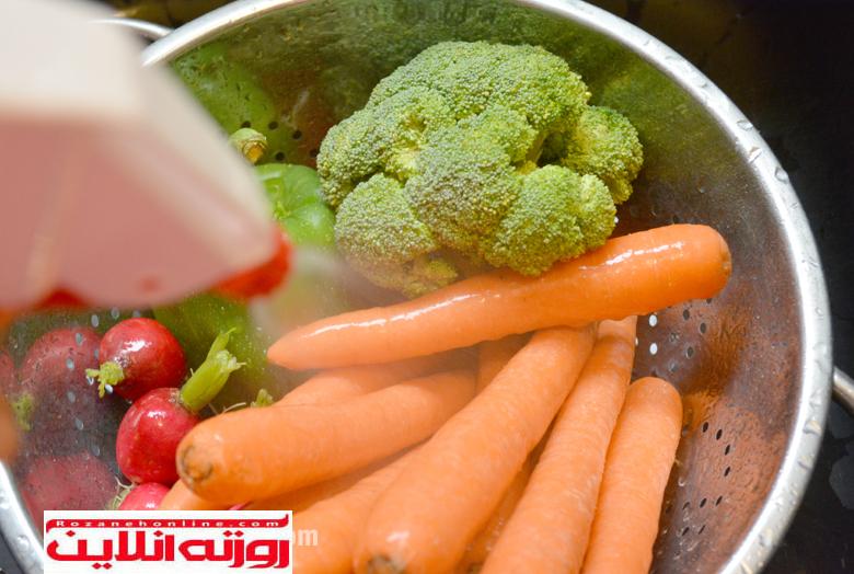 مسمومیت های ایجاد شده توسط سبزیجات آلوده