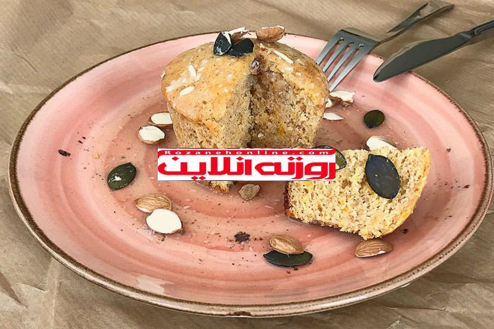 کیک رژیمی : کیک خیس با سس نارگیلی