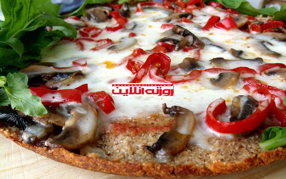 طرز تهیه پیتزای سوخاری بدون استفاده از فر
