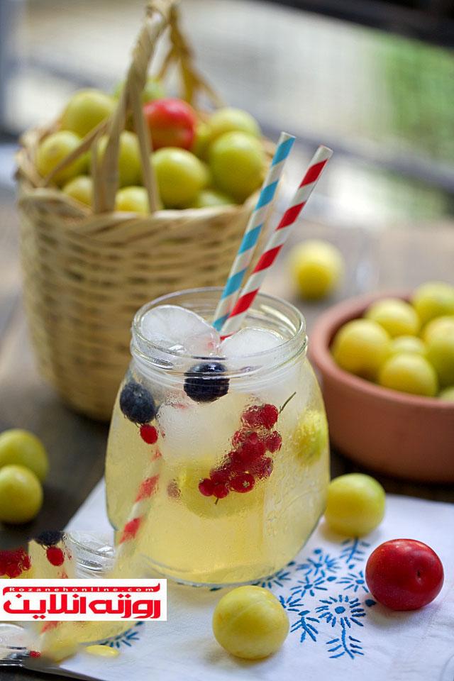طرز تهیه آب گوجه سبز نوشیدنی فصل تابستان