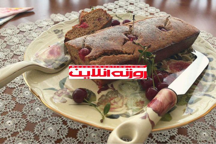 چگونه کیک آلبالوی رژیمی درست کنیم