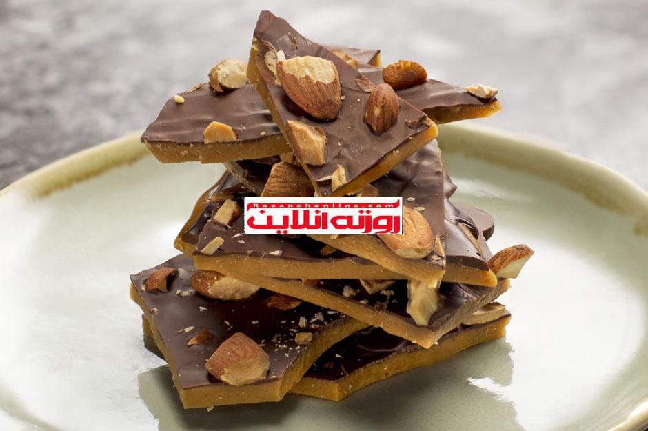 چگونه  شکلات کاراملی خانگی درست کنیم ؟
