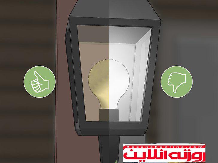با تغییر لامپها حشرات را از خود دور کنید