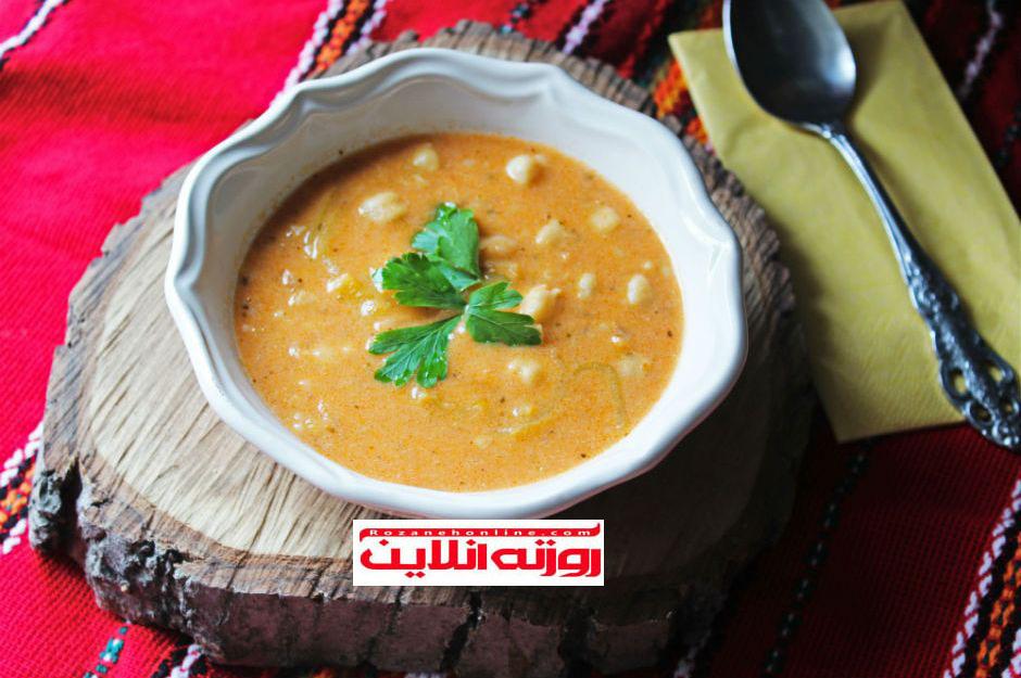 طرز تهیه سوپ بلغور با ماست