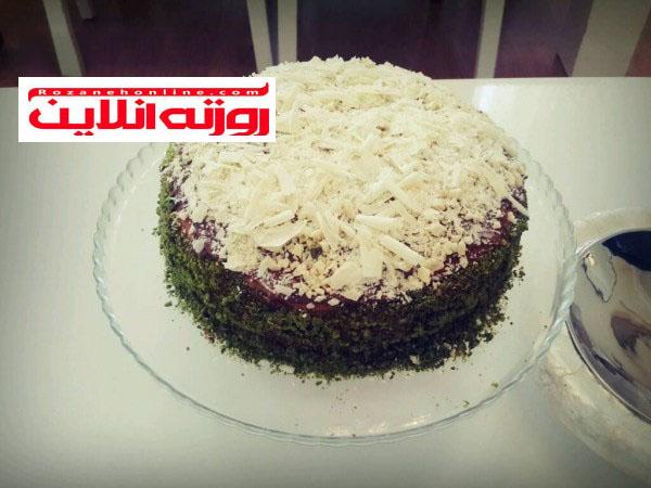 آموزش کیک موز با طعم اکلر