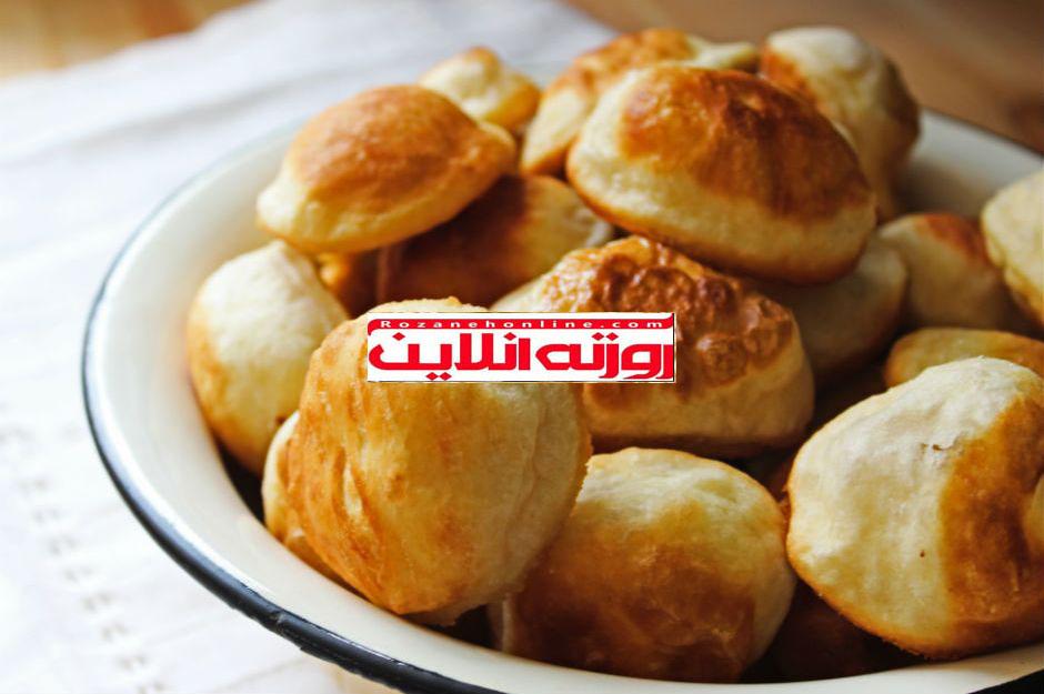 چگونه نان بادکنکی صبحانه درست کنیم