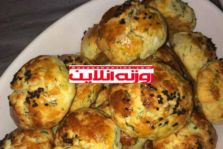 آموزش نان صبحانه با پنیر و سبزیجات