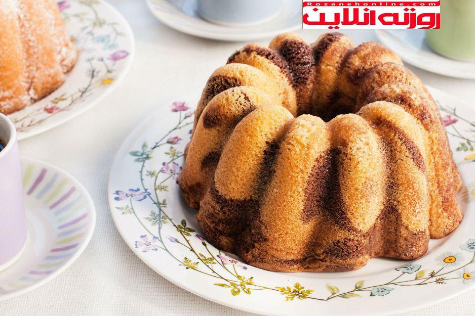 کیک نرم مثل پنبه : کیک بدون  شیر
