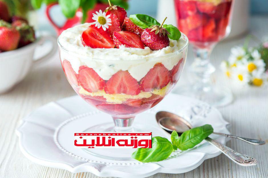 چگونه یک نوع دسر خوشمزه مخصوص تابستان درست کنیم ؟