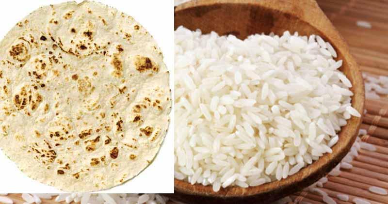 اثرات برنج بیشتر است در اضافه وزن یا نان