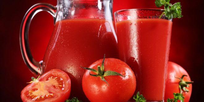 خواص شگفت انگیز آب گوجه فرنگی بر سلامتی