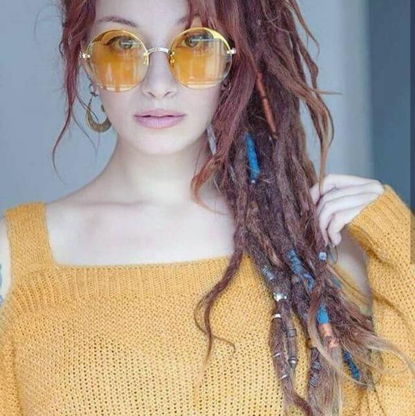 مدل رنگ مو فانتزی 2019,رنگ مو فانتزی 2019,رنگ مو فانتزی 98,جدیدترین عکس رنگ مو فانتزی 2019