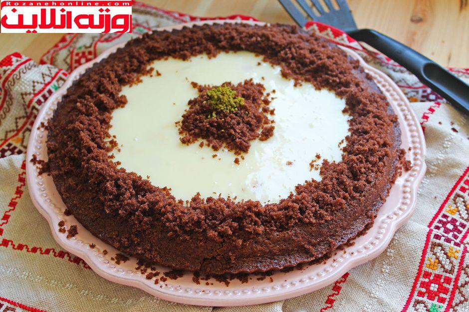 کیک در قالب تارت