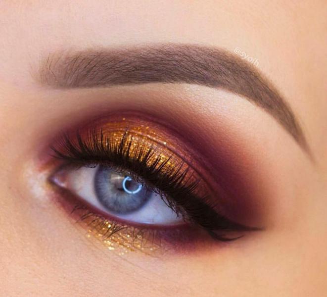 مدل آرایش چشم ساده 2019 جدیدترین مدل آرایش چشم و صورت 2019 | جدیدترین مدل آرایش چشم ساده 2019