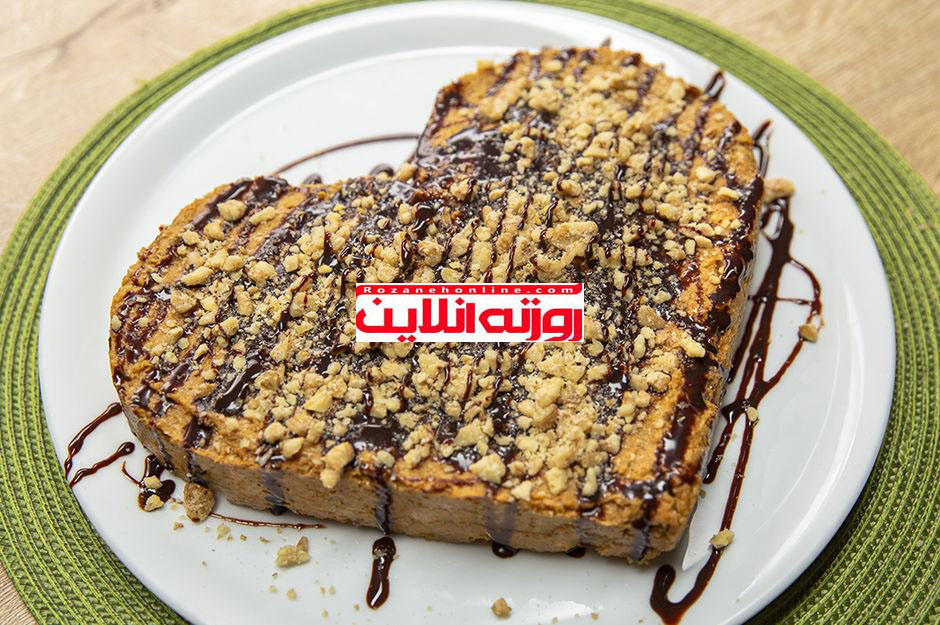 کیک کدو حلوایی بدون نیاز به پخت