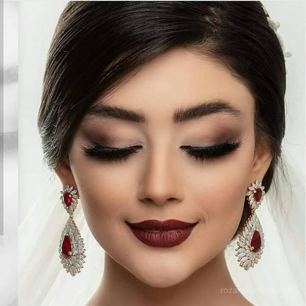 مدل آرایش عروس اروپایی آرایش عروس ایرانی 2019 | آرایش عروس 2019مدل آرایش عروس اروپایی آرایش عروس ایرانی 2019 | آرایش عروس 2019