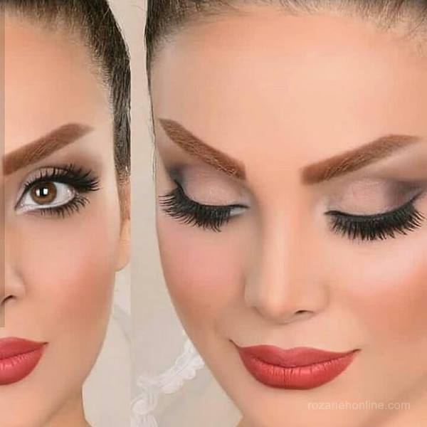 مدل آرایش عروس 2019 میکاپ عروس ایرانی 2019   میکاپ عروس 2019