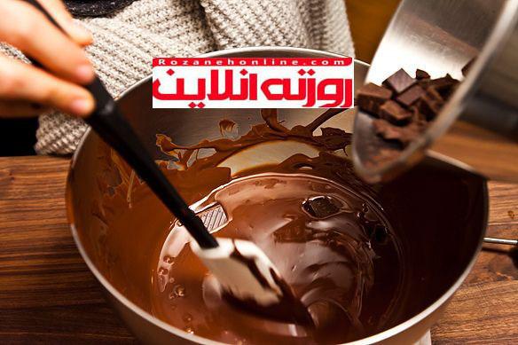 قدم به قدم تمپر کردن شکلات
