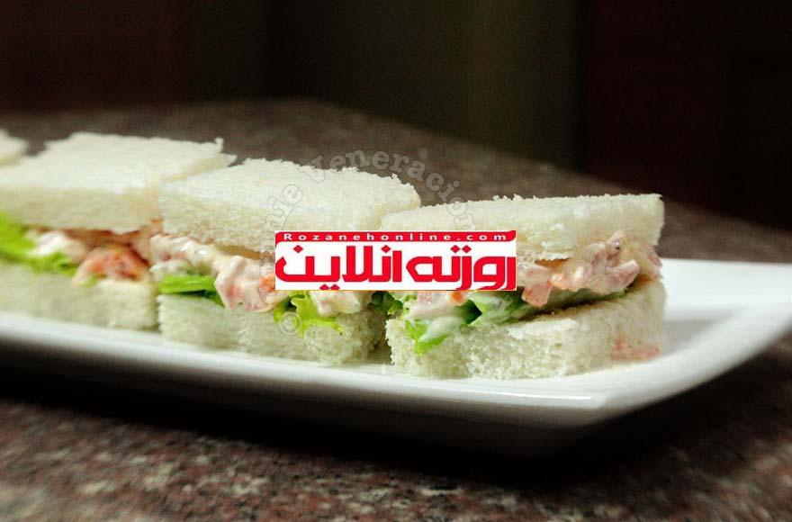 ساندویچ های کوچک و در عین حال ساده برای شب یلدا