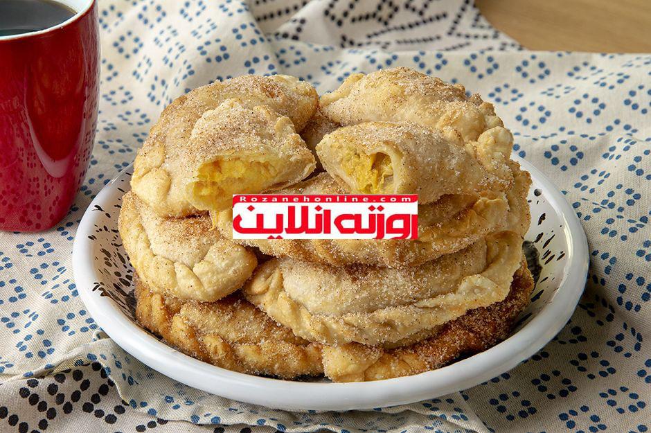 طرز تهیه نان خرمالوی سرخ شده