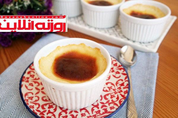 بهترین و خوشمزه ترین حلوای شیر با استفاده از زرده تخم مرغ