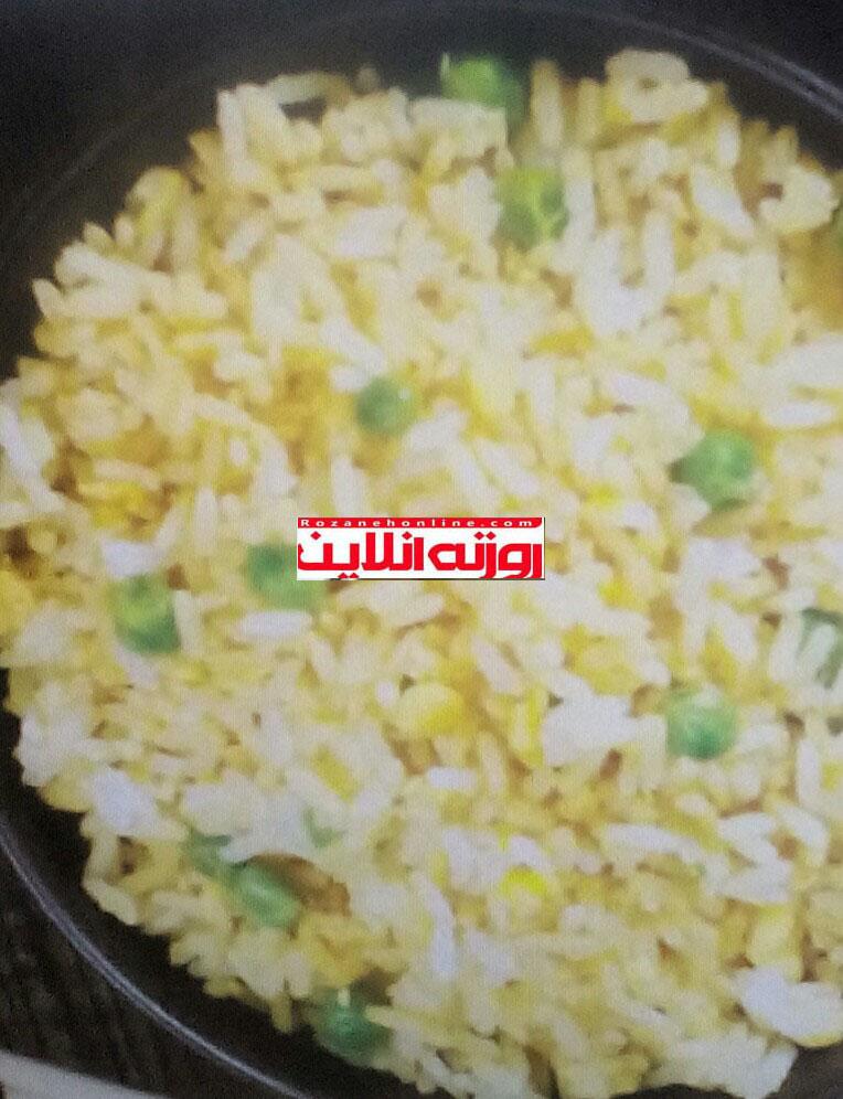 طبخ درست و اصولی برنج سرخ شده تایلندی