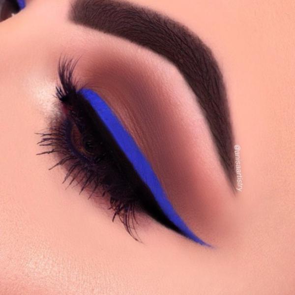 عکس مدل آرایش چشم و ابرو 2019